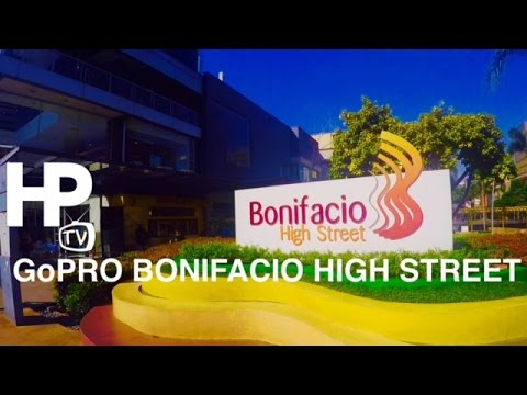 GoPro Hero 4 Bonifacio High Street Walking Tour Overview BGC Taguig by HourPhilippines.com