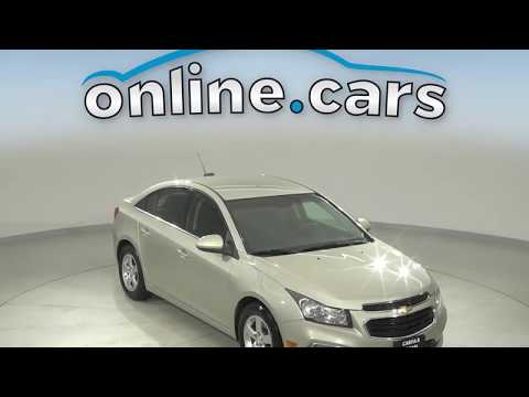 A13566GT Used 2016 Chevrolet Cruze Gold Sedan Test Drive, Review, For Sale
