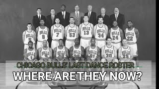 """Chicago Bulls """"The Last Dance"""" 97-98 Roster   Where are they now?"""