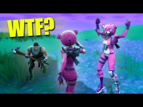DUB SQUAD BABY! *NEW BEAR SKIN!* | Fortnite Battle Royale thumbnail