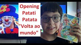 Opening DVD Patati Patata \Volta ao Mundo\  RenanPituco DVD Opening PatatiPatata