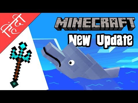Minecraft 1.14 (2018) The Update Aquatic  Dolphins, Tridents, Beautiful Underground Ocean and More