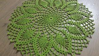 Tığişi Örgü Yuvarlak Dantel Yapımı & Crochet