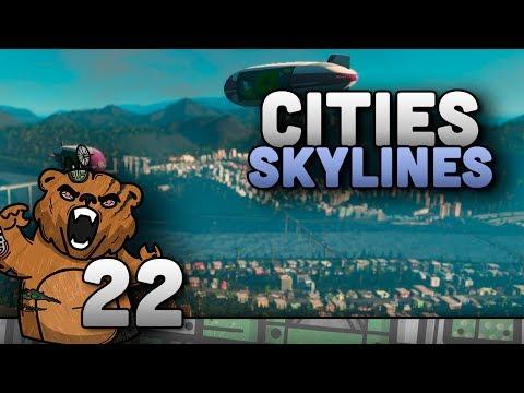 Fazendo a vila dos esportes! | Cities Skylines #22 - Mass Transit Gameplay Português PT-BR