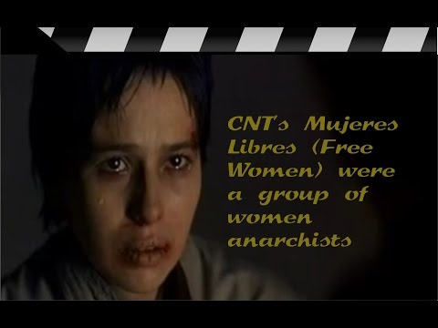 Libertarias:   Mujeres Libres  - Women anarchists in the Spanish Civil War  -  A las barricadas