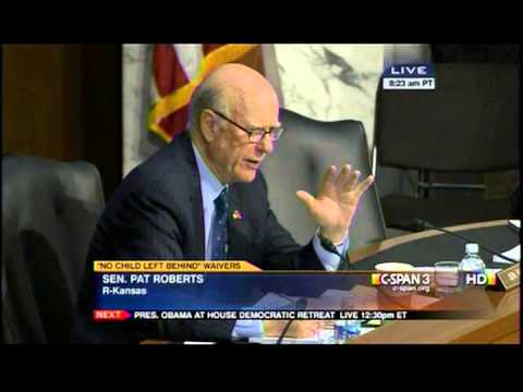 Senator Roberts Questions Education Secretary Duncan in HELP Committee Hearing