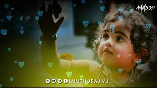 Muthu mazhaiye / nee varum pothu / mazhai / Tamil whatsapp status /muthuraj vj
