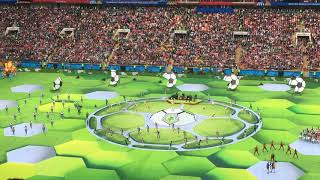 Робби Уильямс на открытии Чемпионата мира в России