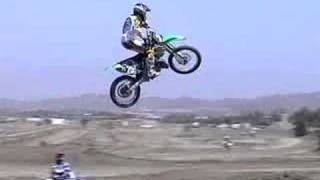 Dirt Bike jumping feat. bubba