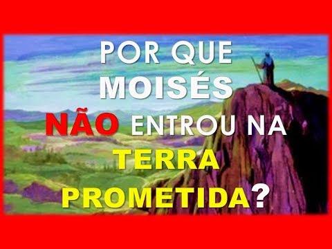 Baixar Por que MOISÉS não entrou na Terra Prometida?