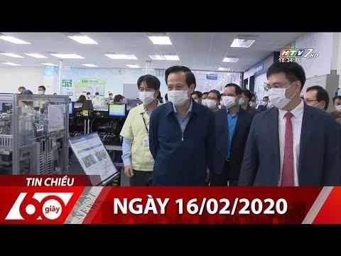 60 Giây Chiều – Ngày 16/02/2020 – HTV Tin Tức  Mới Nhất