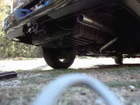 Honda Ridgeline Exhaust Mod (No Resonator) - YouTube