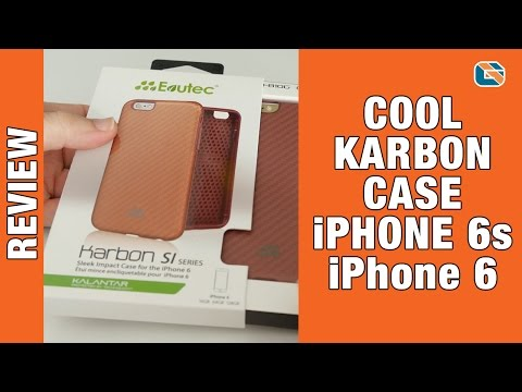Evutec Karbon SI Series Sleek Impact Case Review for iPhone 6s & iPhone 6