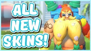 Overwatch - ALL 2019 SUMMER GAMES SKINS AND ITEMS