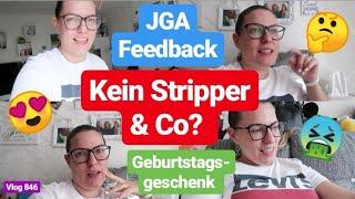 So war mein JGA! Feedback l Geburtstagsgeschenk für Verlobten l Vlog 846
