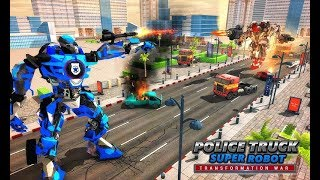 Police Truck Super Robot Transformation War (By The Game Feast) Android Gameplay HD
