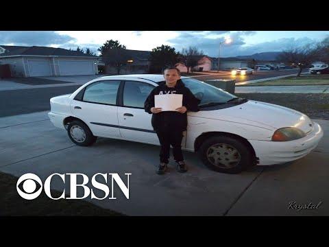 AJ - #GoodNews: 13-year-old Boy Buy His Single Mom A Car