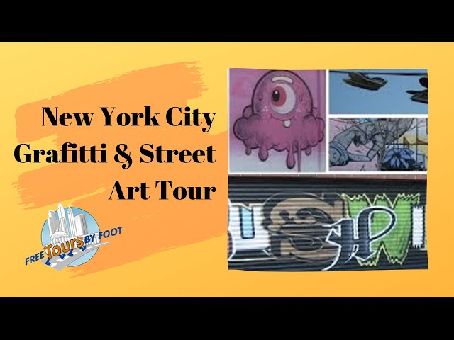 New York Graffiti And Street Art Tours Free Tours By Foot