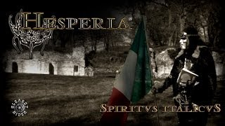 "HESPERIA-""SPIRITUS ITALICUS"" (Trailer preview of the forthcoming new album)"