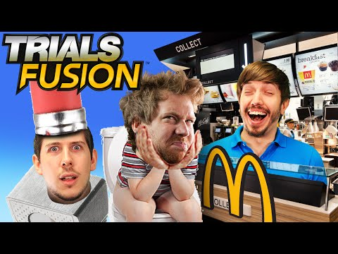 Trials Fusion - McDonalds Madness!