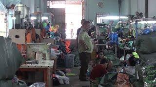 Phát hiện xưởng sản xuất giày giả nhãn hiệu nổi tiếng tại Đồng Nai