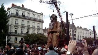 Les Géants de Royal de Luxe à Nantes