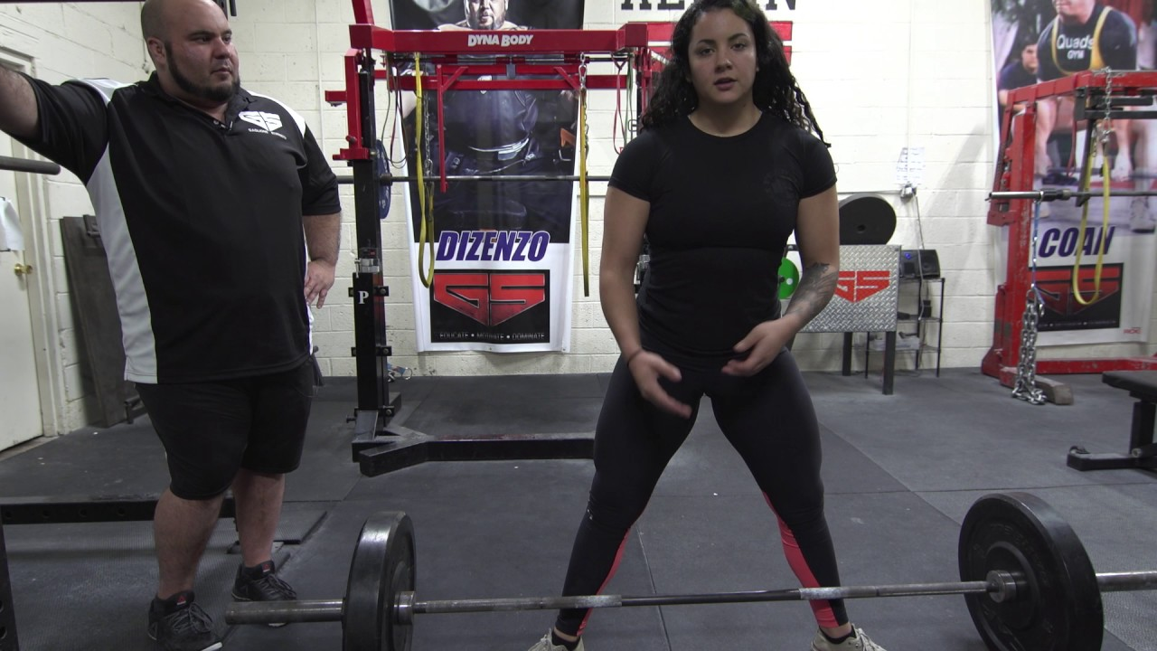 32ecdf6e9ec6 Master the Sumo Deadlift with Gina Aversa - YouTube