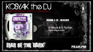 Hardstyle Mix - FEAR.FM: Kosyak The DJ - Fear Of The Dark Show: Session #23