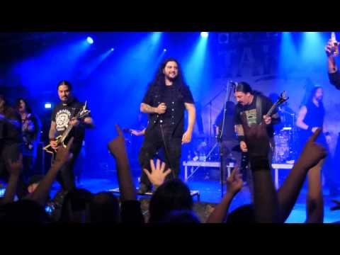 Kataklysm, Krisiun, Fleshgod Apocalypse - Highway To Hell, Live @ Backstage Munich 15.2.2014
