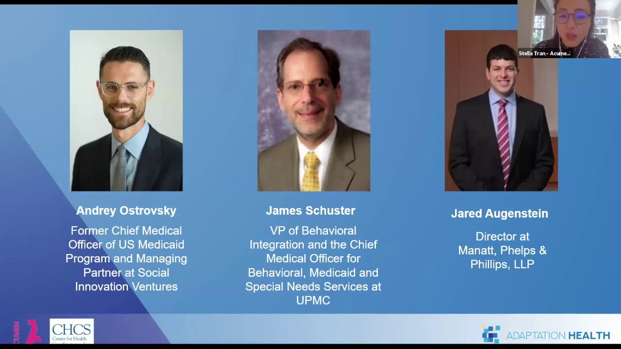 """Opening and Expert Panel from """"Access to Health Services Leveraging Virtual Care"""""""