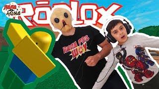 ЯРИК ТЕПЕРЬ МОНСТР! Папа Роб и Ярик играют в Roblox! Задача: выйти из здания! 13+