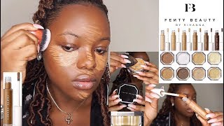 TESTING NEW FENTY BEAUTY PRO FILT'R CONCEALER & SETTING POWDER REVIEW