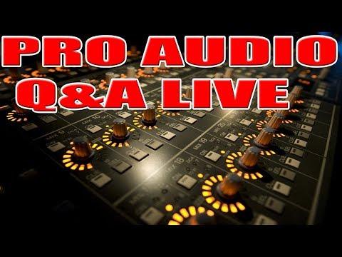 Pro AUDIO  & DJ LIVE Q&A DJ AMP AND SPEAKER