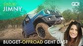 Richtig Offroad mit wenig Geld und wenig Motor? Der Suzuki Jimny im Offroad-Test