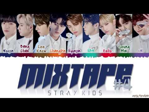 STRAY KIDS 스트레이 키즈 - &39;MIXTAPE 4&39;  Color CodedHanRomEng