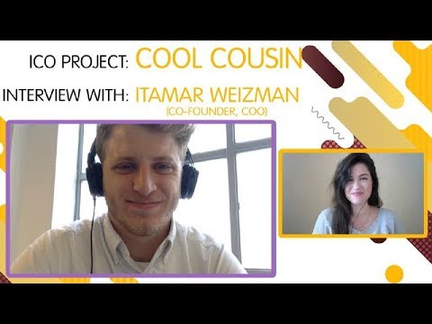 "ICO ""COOL COUSIN"" interview with  Itamar Weizman [ENG]"
