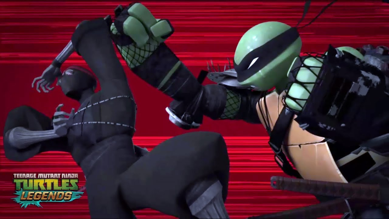 Hamato Vs Foot Clan Teenage Mutant Ninja Turtles Legends Youtube