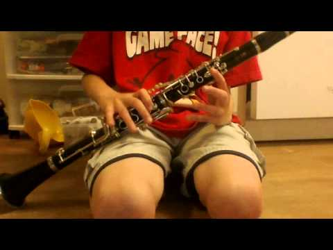 How To Play Happy Birthday On Clarinet (Basic)