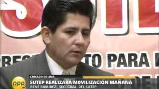 rpp tv noticias en vivo sutep sede central