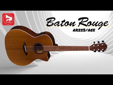 Шикарная электроакустика BATON ROUGE AR22S ACE