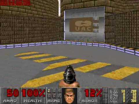 Paul's Gaming - Doom 2 wad - Base (by Ra188) part1  