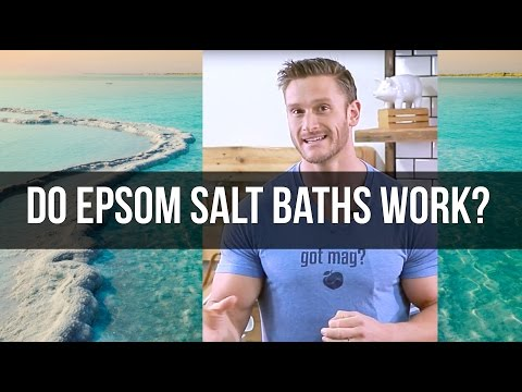 Epsom Salt Baths: Magnesium Absorption- Thomas DeLauer