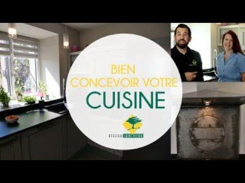 Bien Concevoir Sa Cuisine La Minute Conseil Par Atelier Saint Victor
