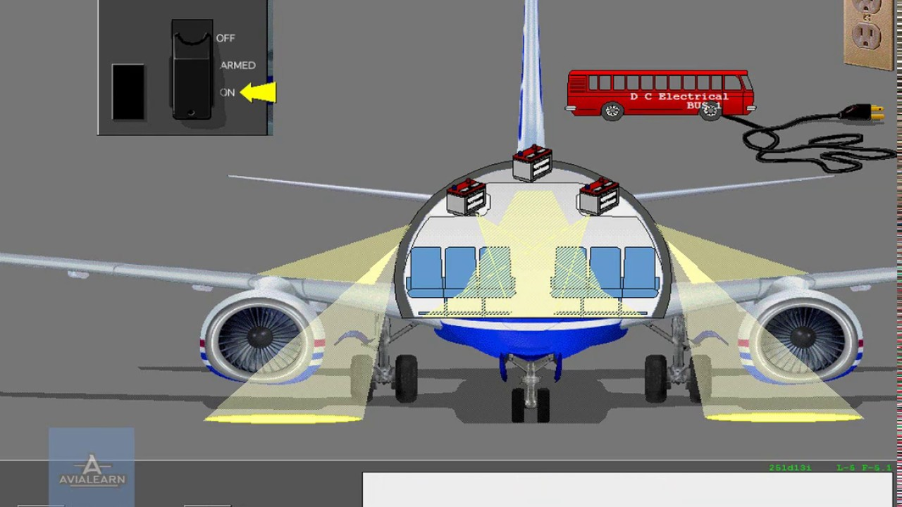 emergency lighting system boeing 737 ng