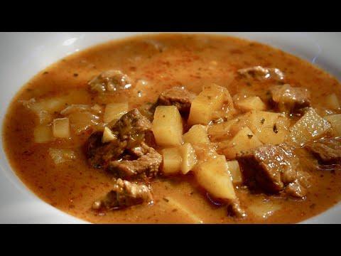 Královská gulášová polévka