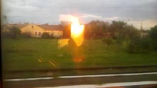 Ст. Калининдорф из окна поезда Херсон-Киев