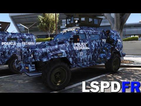 GTA V LSPDFR #141 POLICÍA FEDERAL DIVISIÓN GENDARMERÍA - LA MEJOR MISIÓN ENCUBIERTO   TheAxelGamer