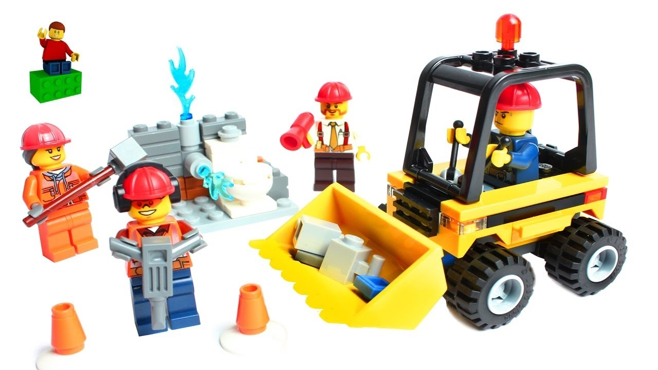 Lego City Construction Trucks Learn To Make Lego Construction