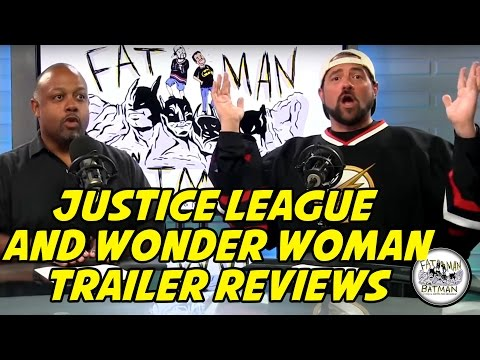 JUSTICE LEAGUE AND WONDER WOMAN TRAILERS REVIEWED BY KEVIN SMITH - FAT MAN ON BATMAN 057