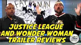 JUSTICE LEAGUE AND WONDER WOMAN TRAILER REVIEWS